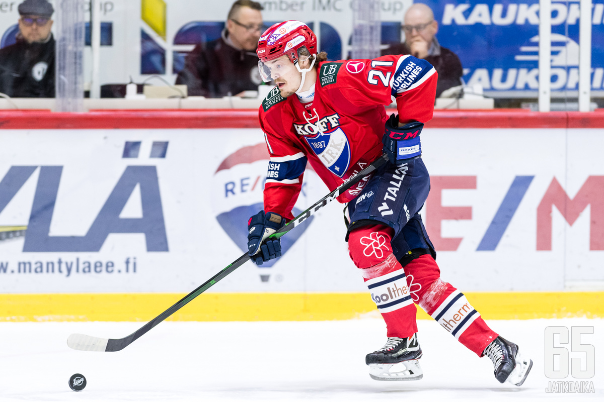 Ville Leskisen vamma syntyi Tampere Cupissa