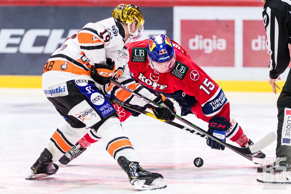 HIFK:n Anton Lundell on suomalaislupausten kärkinimi.