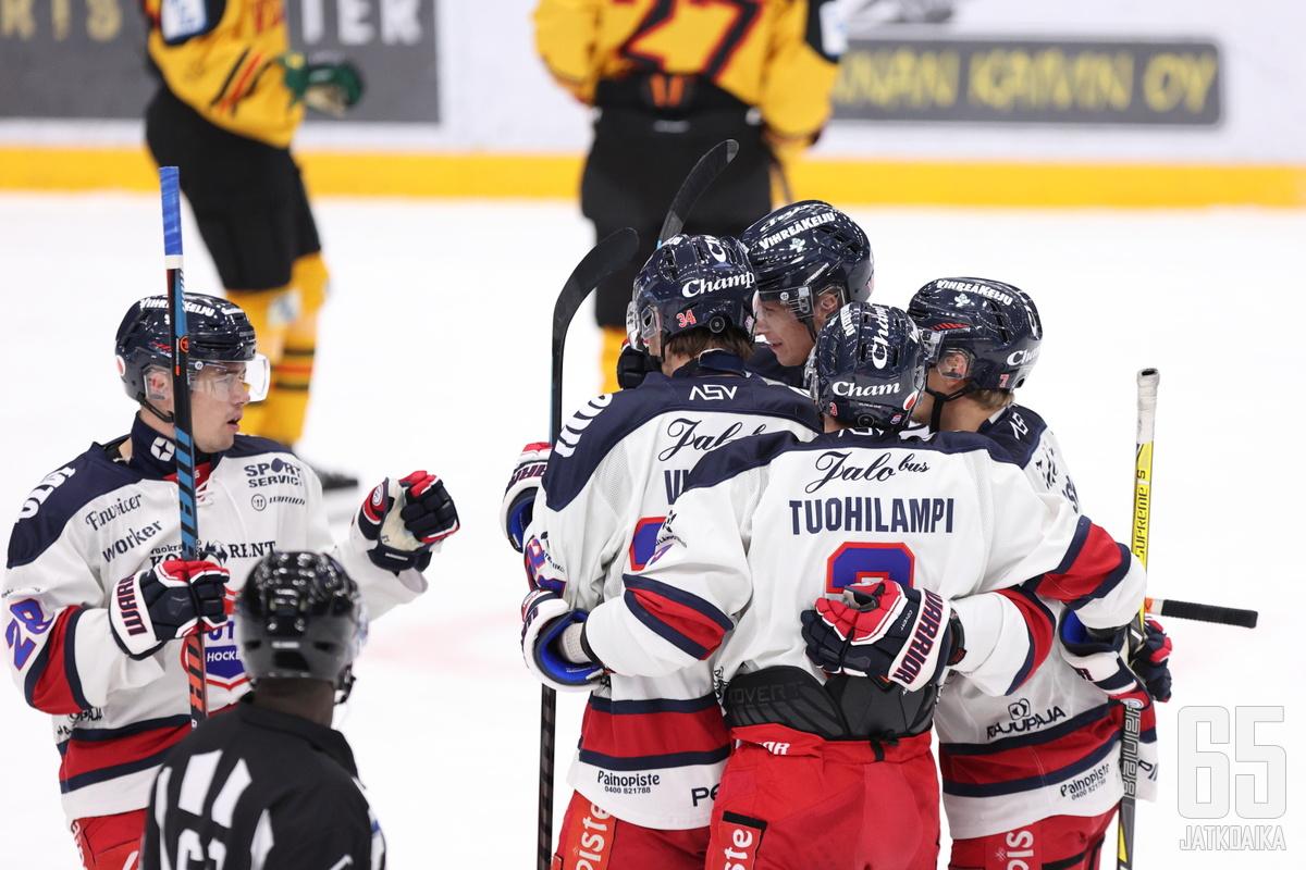 Turkulaisvieraat olivat vahvoja taistellessaan pisteet Tampereelta