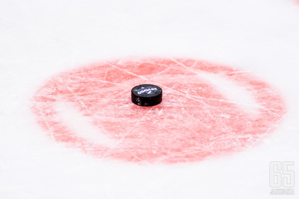 Howie Meeker oli 50-luvulla NHL:n parhaimmista. Kuvituskuva.