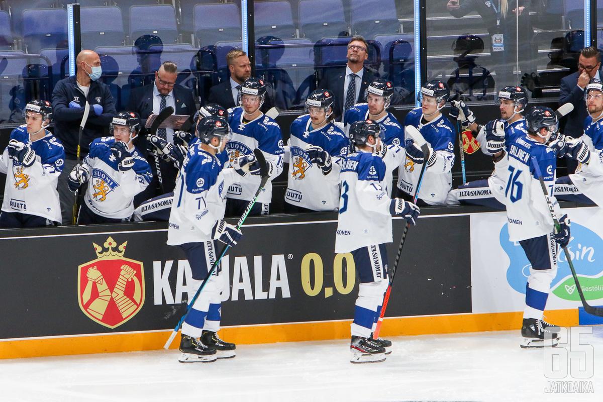 Suomi onnistui nappaamaan voiton turnauksen päätösottelusta.