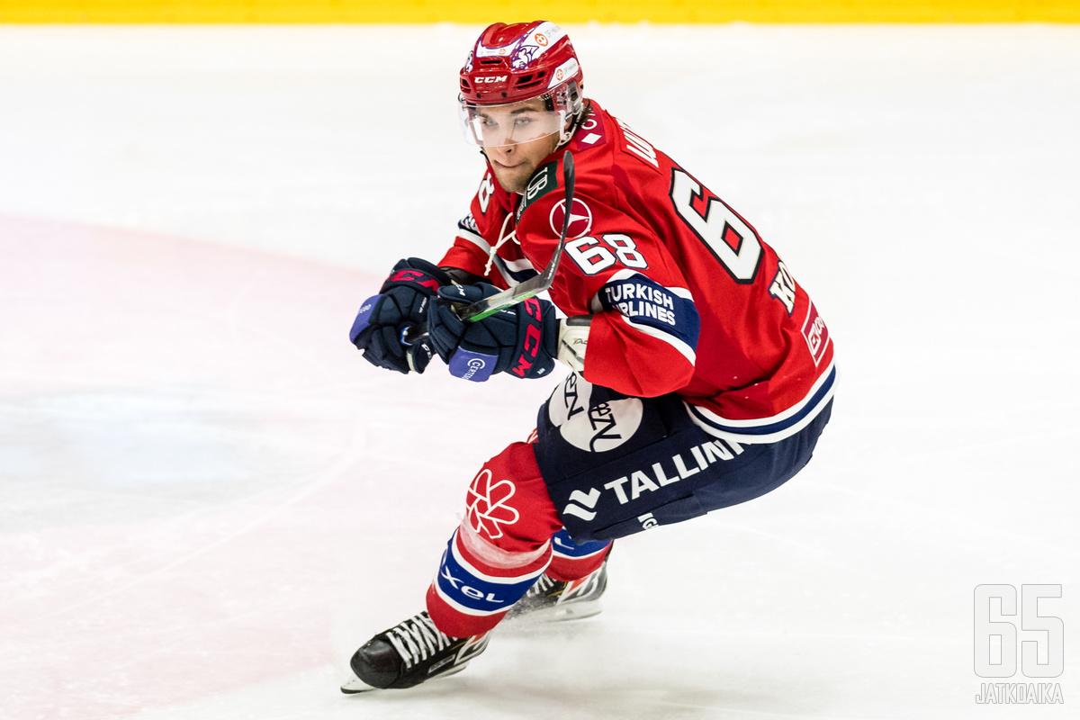 Joona Luoto edusti alkukaudella HIFK:ta.