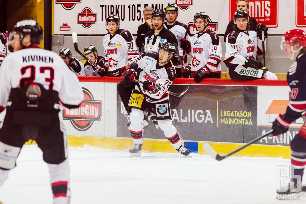 Vielä viime kaudella Joensuun Mestis-joukkue kantoi Jokipojat-nimeä.