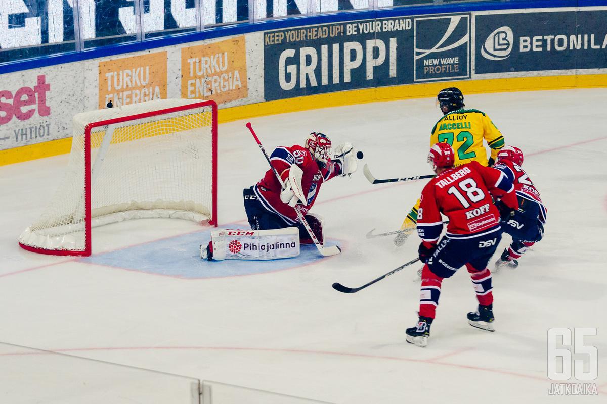 HIFK ja Ilves pelasivat Turussa 3v3-turnauksessa.