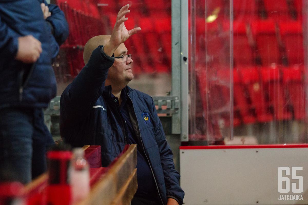 Sami Haapsen mukaan kärkijoukkue voi hävitä hyvälläkin pelillä.