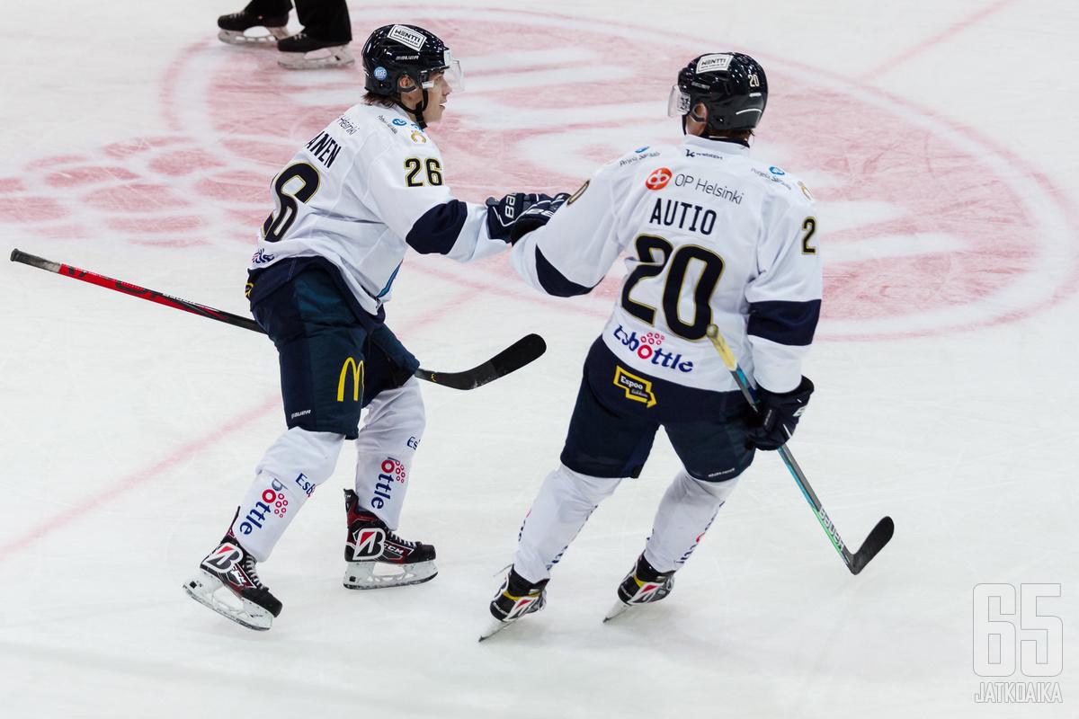 Espoolaislähtöinen Erik Autio voitti urallaan muun muassa Bluesissa U20 SM-kultaa.