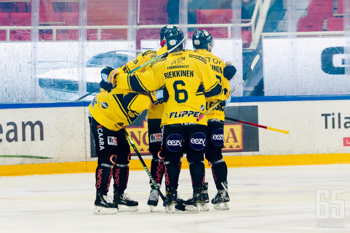 KalPa voitti tiiviillä viisikkopelaamisellaan Lukon jo toistamiseen tällä kaudella