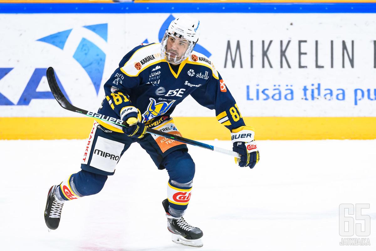 Brandon Yipistä ei ollut sateentekijäksi Mikkelin visiitillään.