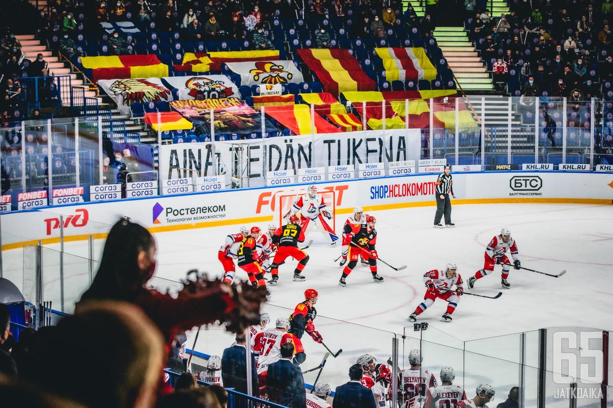 Jokerien pudotuspelit Jaroslavlissa eivät ole olleet ruusuilla tanssimista.