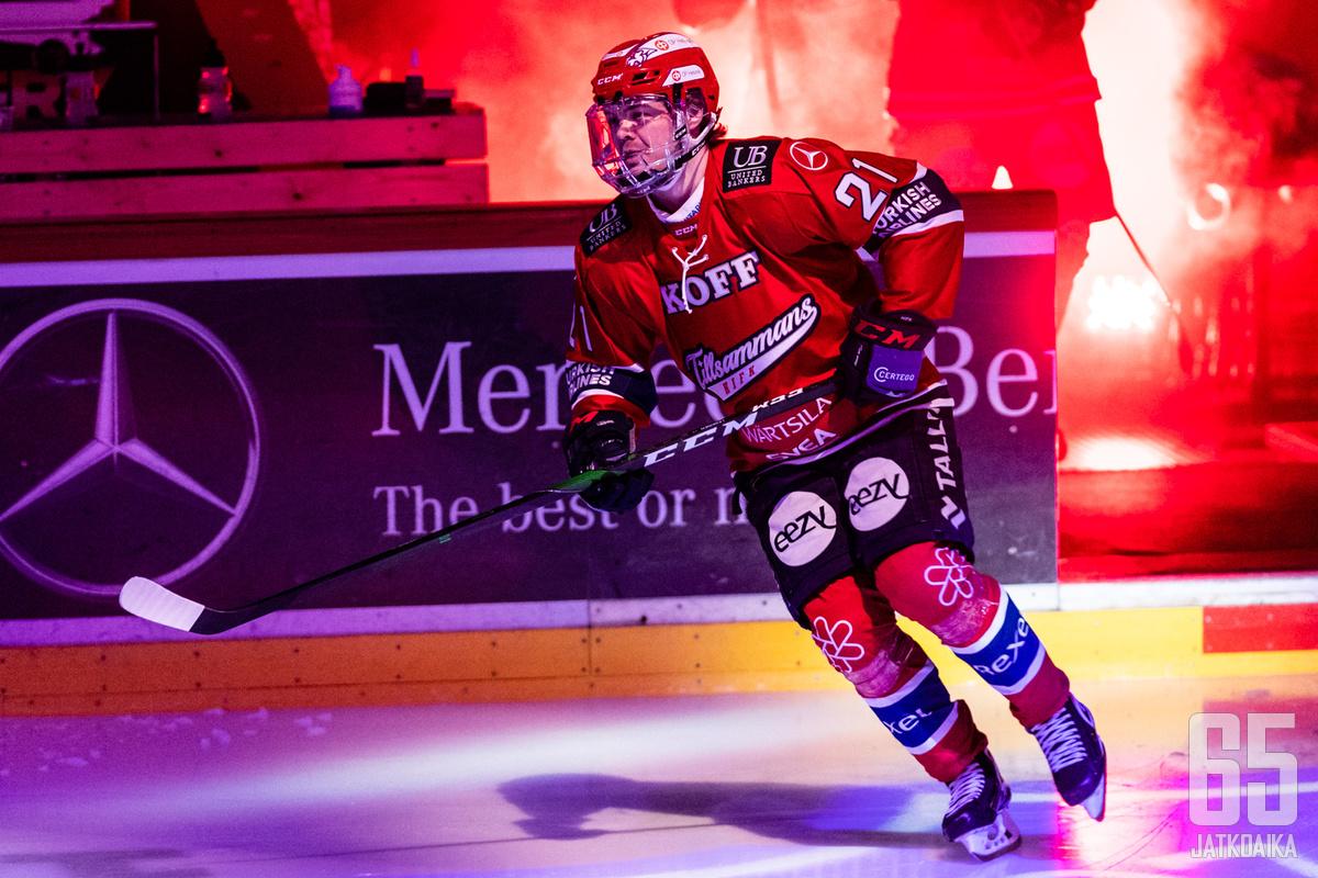Ville Leskinen on yksi tämän sarjan mielenkiintoisimmista pelaajista.