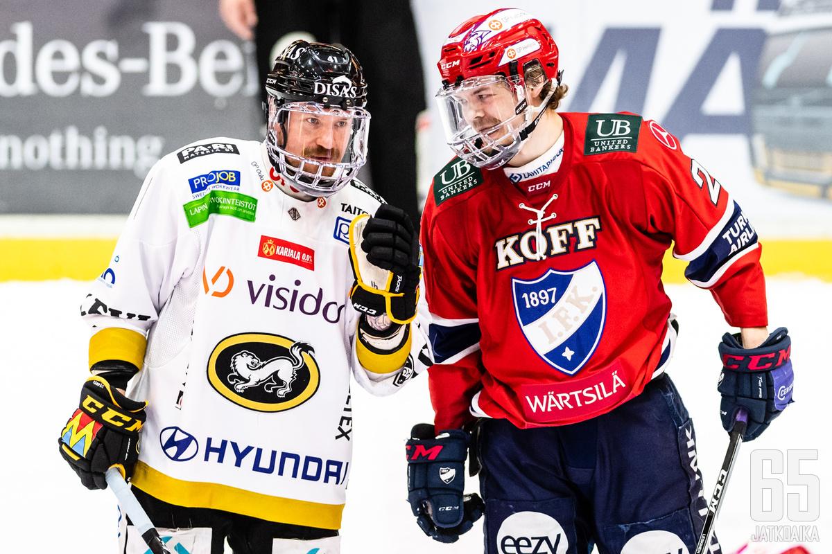Leskinen edusti tällä kaudella HIFK:ta.