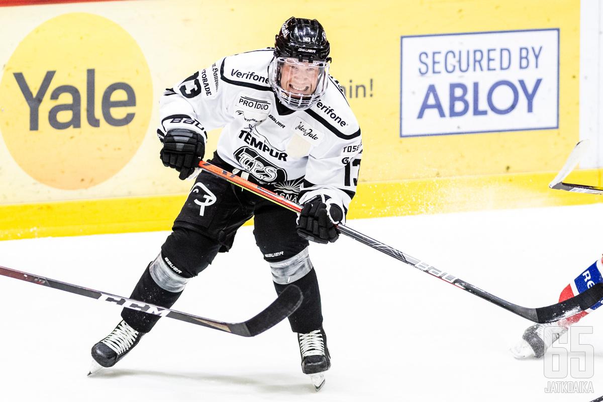 Wirtanen edusti viime kaudella TPS:ää.
