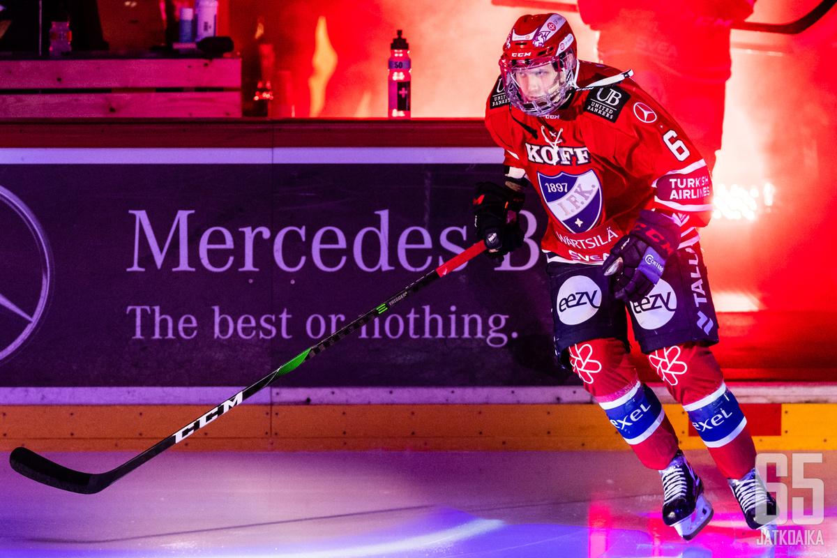 Lyytinen oli viime kaudella HIFK:n parhaimmistoa.