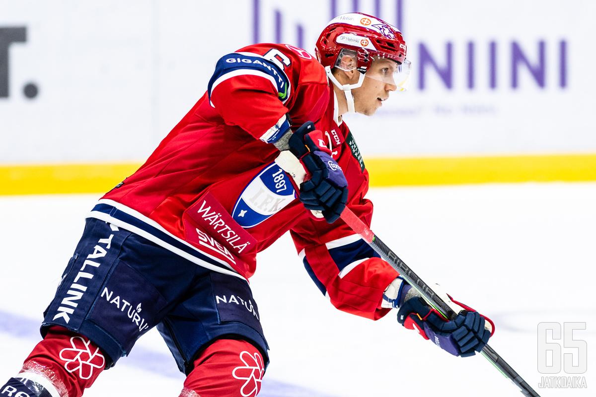 Lyytinen on sivussa HIFK:n kokoonpanosta torstaina.