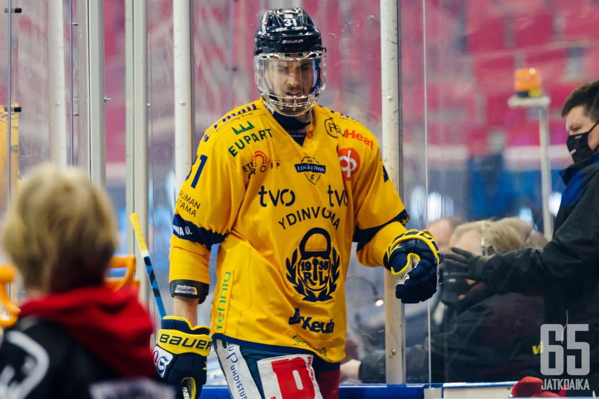 Eetu Koivistoinen on finaalisarjan paras aloittaja.