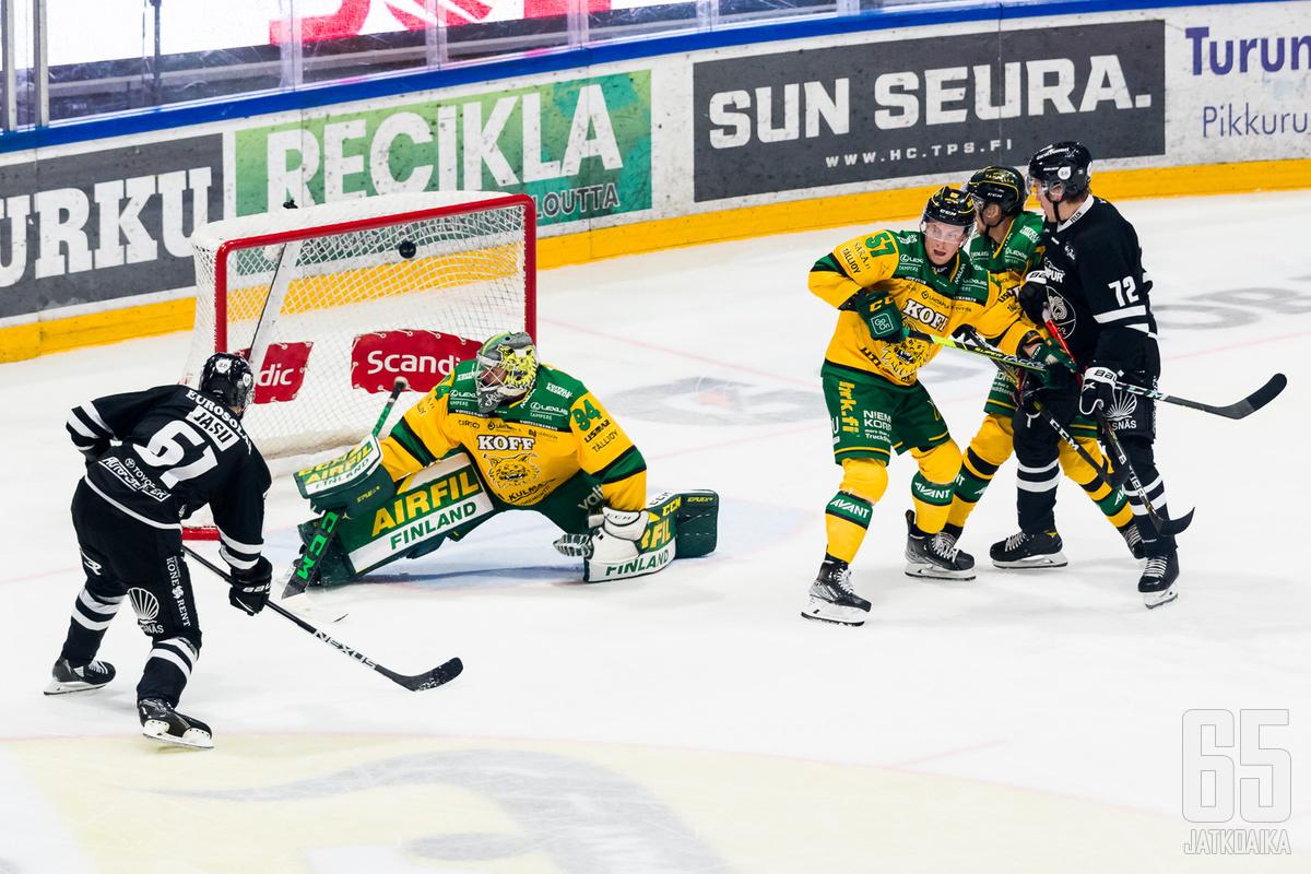 Kapteeni Juhani Jasun kavennusmaali 1-2:een jää lopulta laihaksi lohduksi.