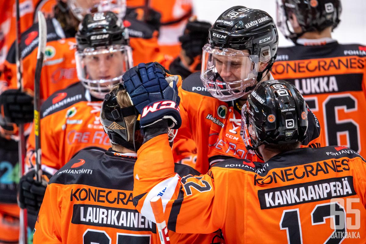 Eetu Laurikainen käänsi HPK:n kurssin vuodenvaihteen jälkeen.