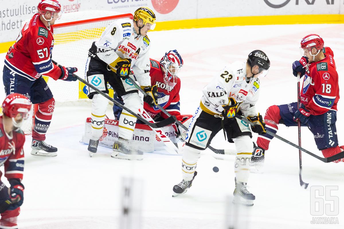 Mäenalanen väänsi HIFK:n maalilla.