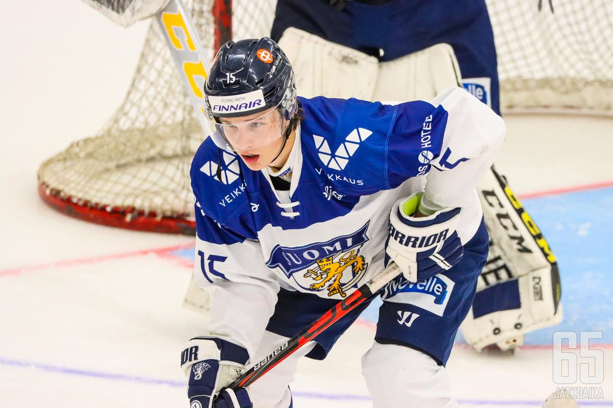 Aleksi Heimosalmesta tuli korkeimmalla varattu suomalainen.