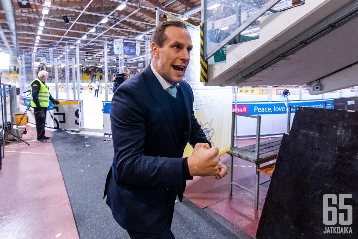 Ville Nieminen lähtee Ruotsiin.
