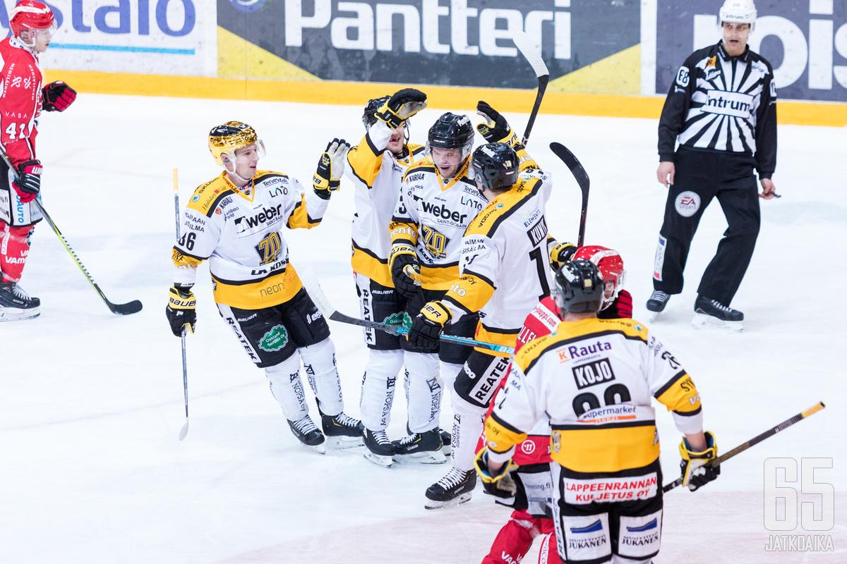 SaiPan voitokkaat otteet kotikaukalossaan jatkuivat tällä kertaa arastelevan Sportin kustannuksella.