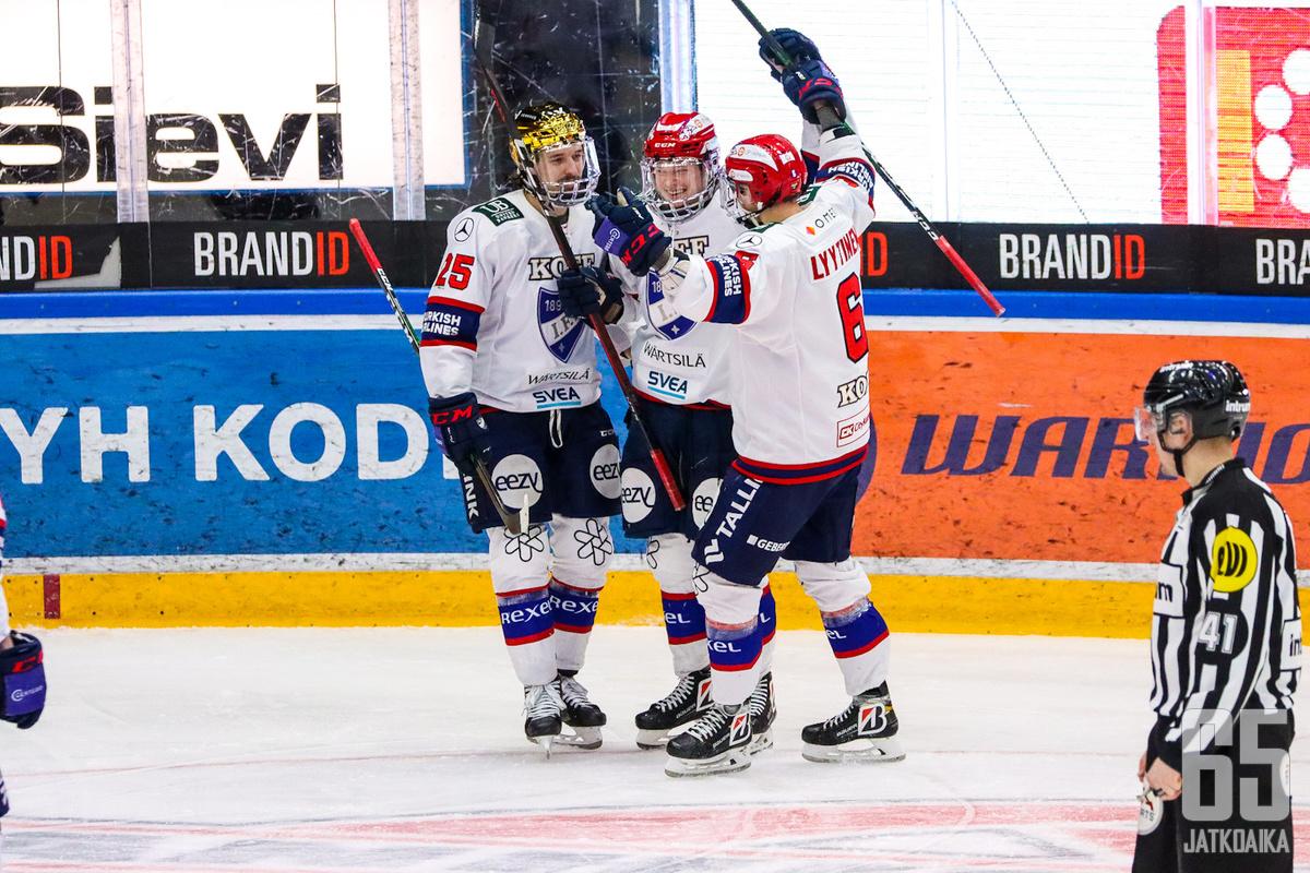 HIFK oli Hakametsässä parempi joukkue.