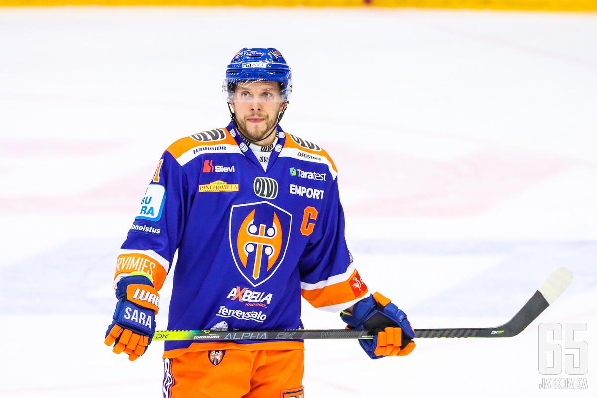 Jukka Peltola näki omiensa esityksessä paljon hyvää.