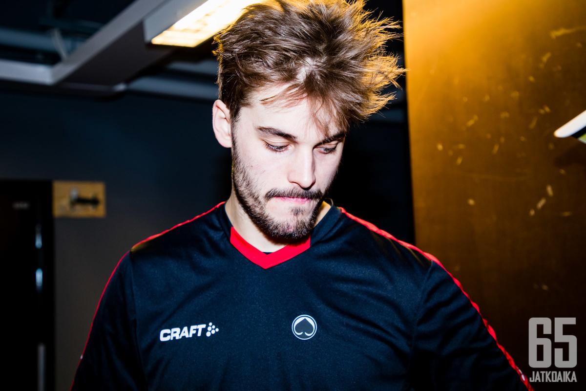 Peter Tiivolalle kausi 2018-19 jätti lähinnä taistelutahtoa ja menestymisen nälkää.