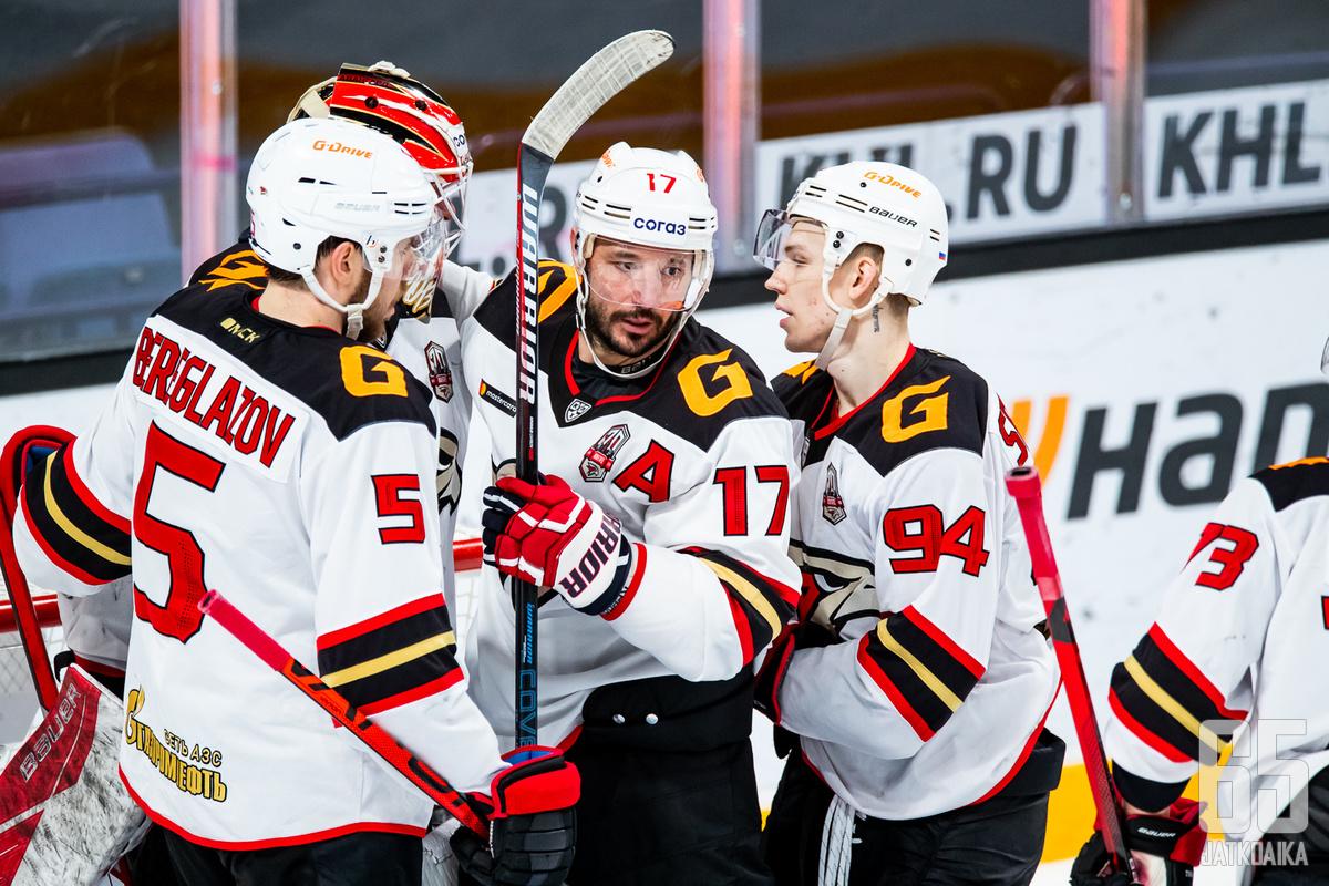 Avangard Omsk nappasi KHL:n mestaruuden.