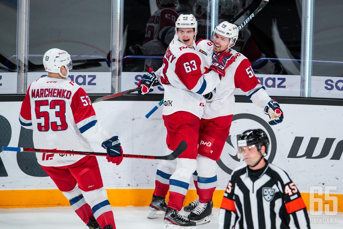 Lokomotiv sai juhlia voittoa runkosarjan päättäneessä kamppailussa.