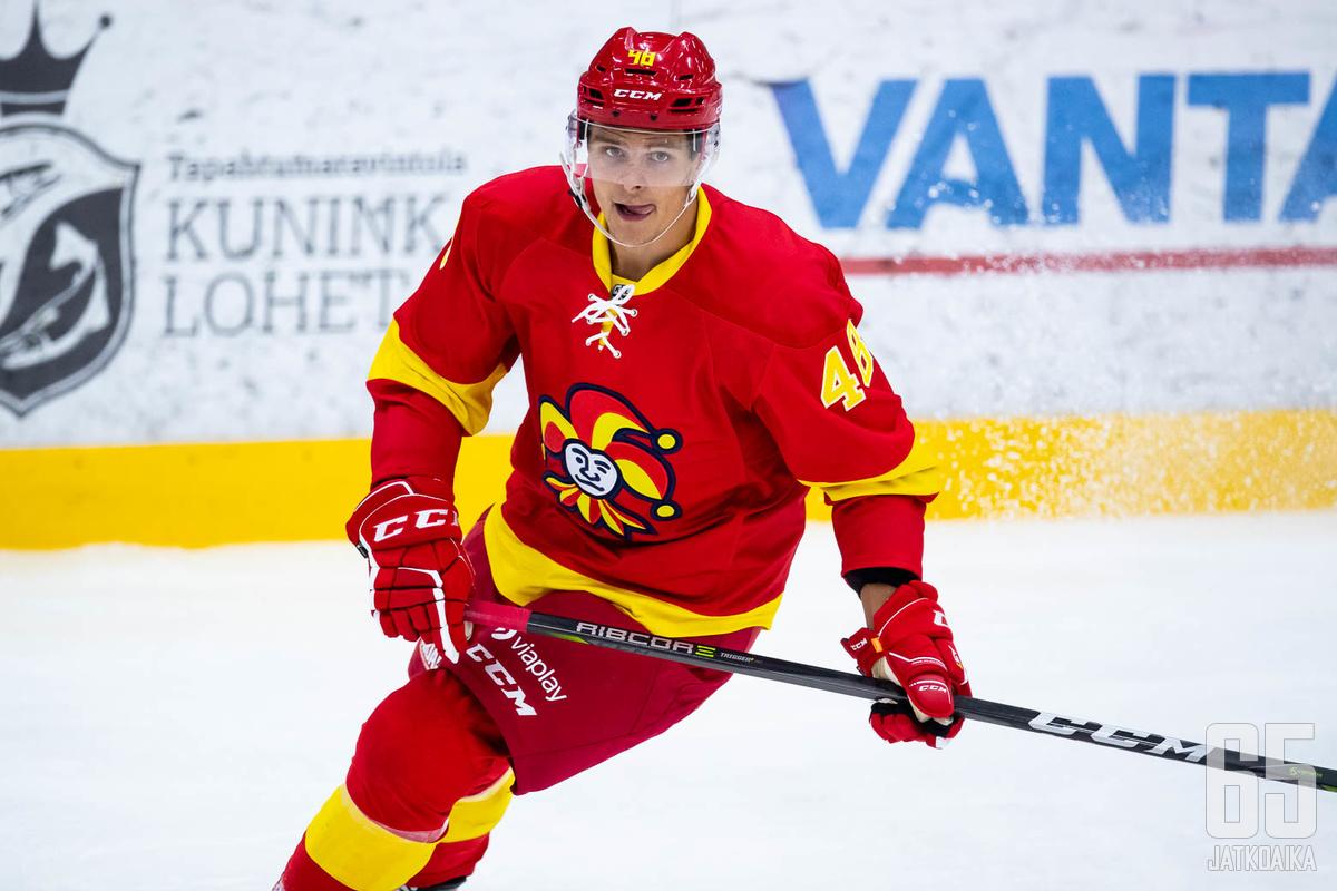 Henri Ikonen paukutti tehot 1+1.