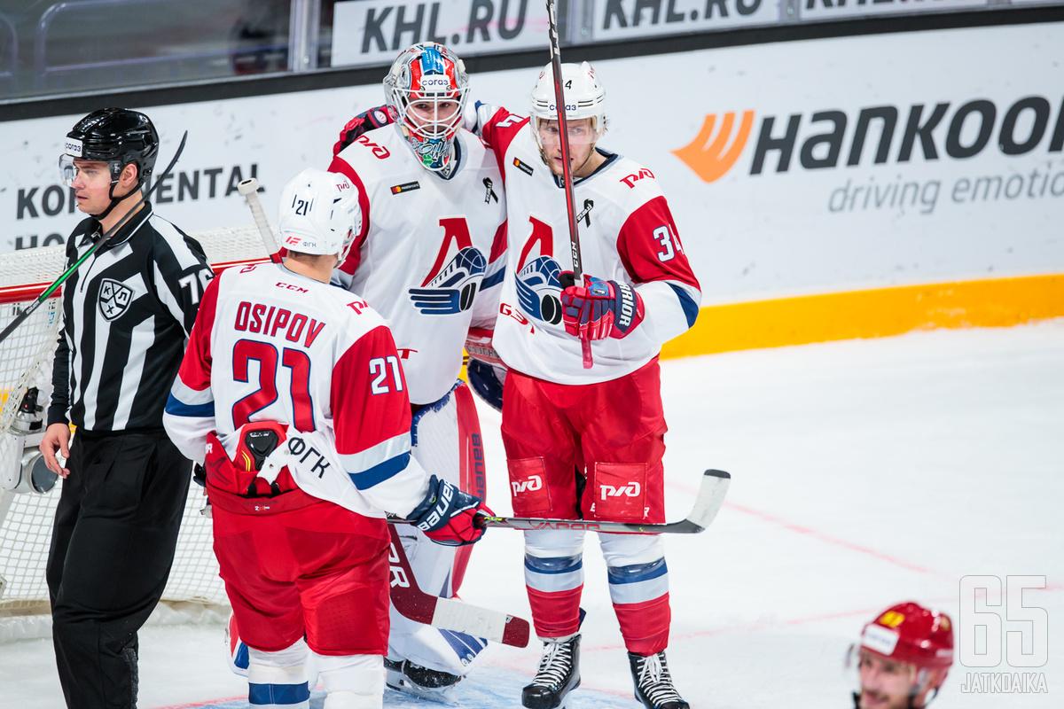 Lokomotiv on jo kahdesti nollannut TsSKA:n pudotuspelisarjan aikana.