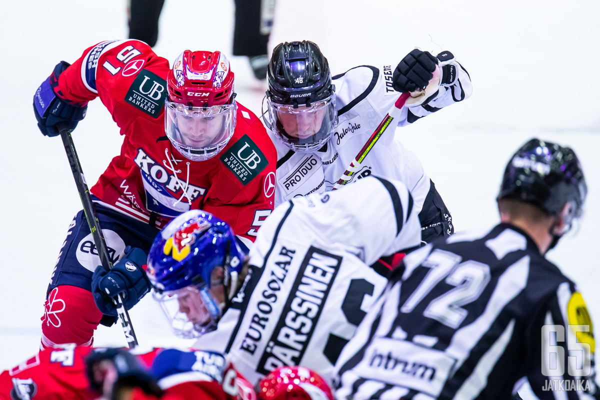 HIFK:n ja TPS:n kesken on odotettavissa tasainen vääntö.