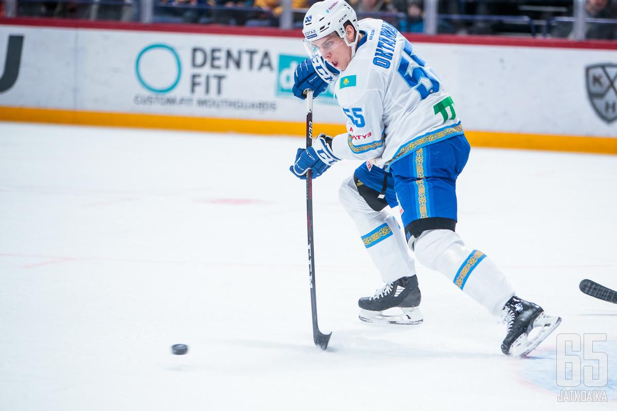 Atte Ohtamaan kiekolliset taidot ovat kehittyneet huimasti sitten KHL-uran alun.