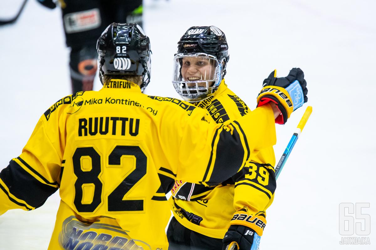 KalPa tuuletti jo neljättä voittoaan Jukureista tällä kaudella.