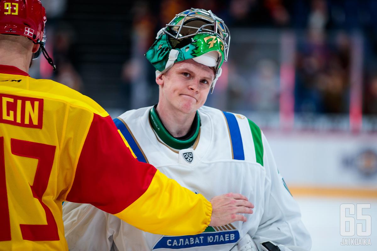 Juha Metsola pelaa Salavat Julajev Ufassa toista kauttaan.