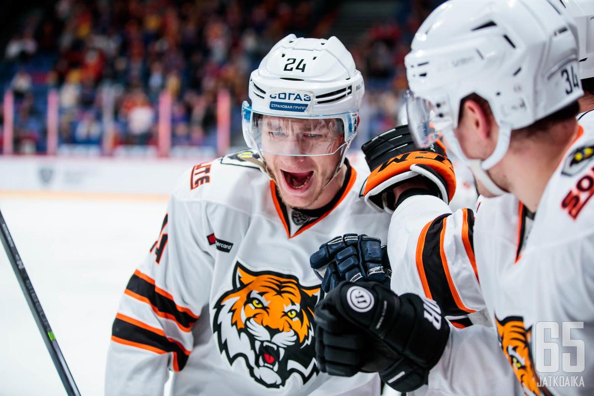 Amur oli ottelussa vahvempi ja ansaitsi voiton.