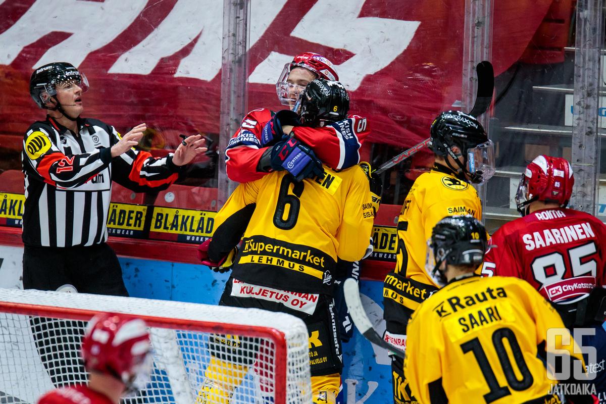 SaiPan ja HIFK:n välisen ottelun koronatartuntaketjut ovat yltäneet pitkälle.