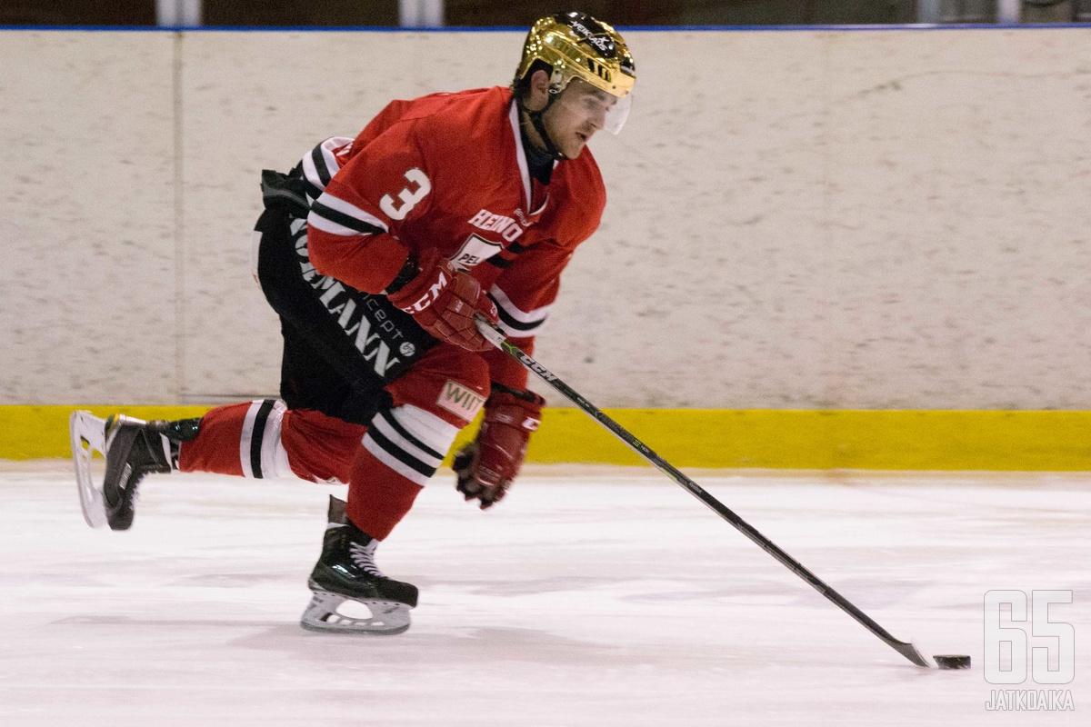 Christian Silfver kantoi viime kaudella pitkään Peliittojen kultakypärää.