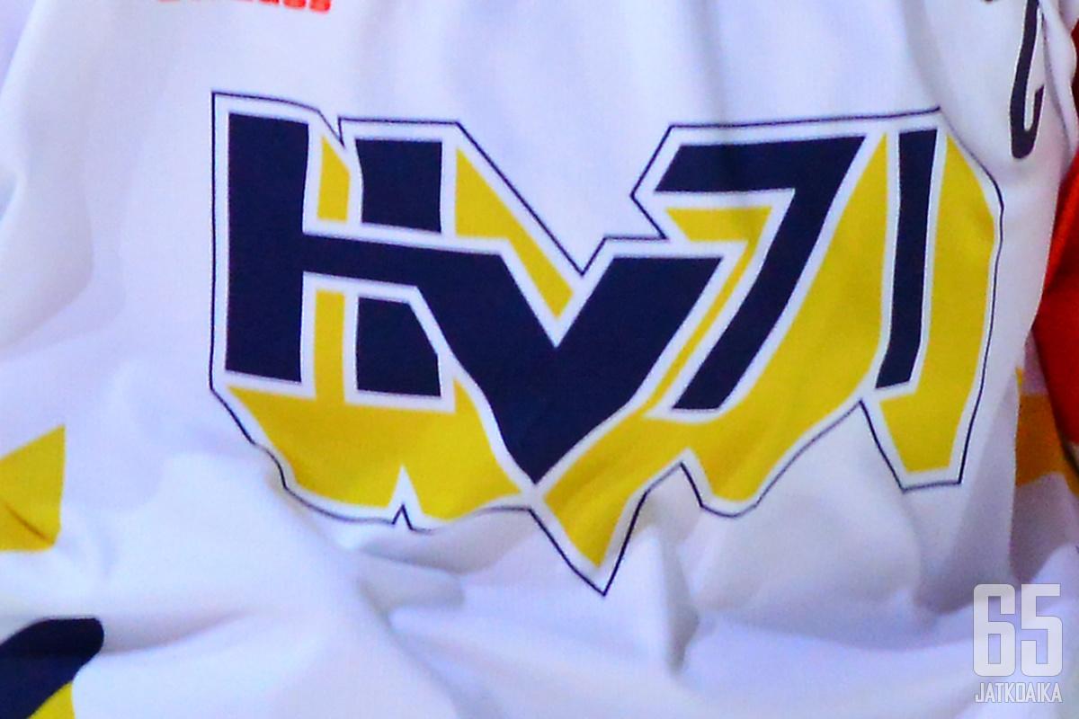 HV71 joutuu sarjaporrasta alemmas.