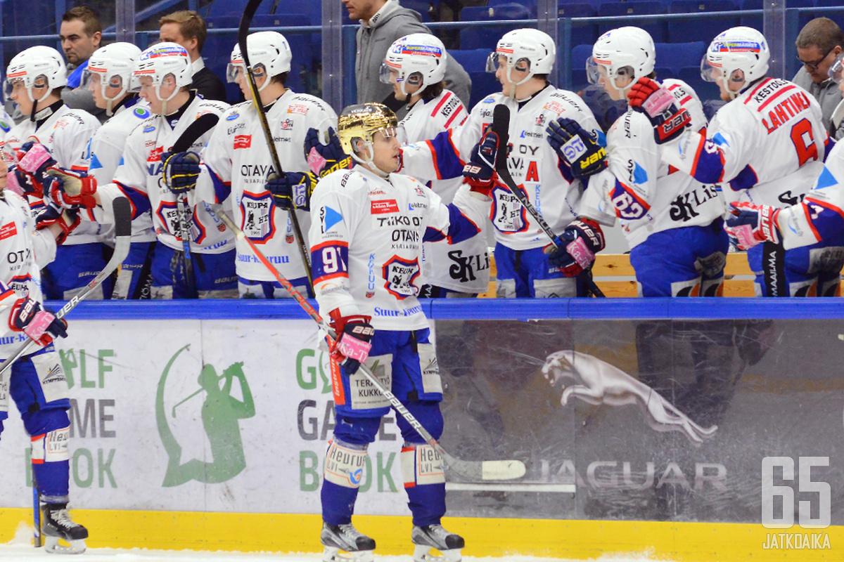 Salonen pelasi tehokkaan kauden KeuPassa.