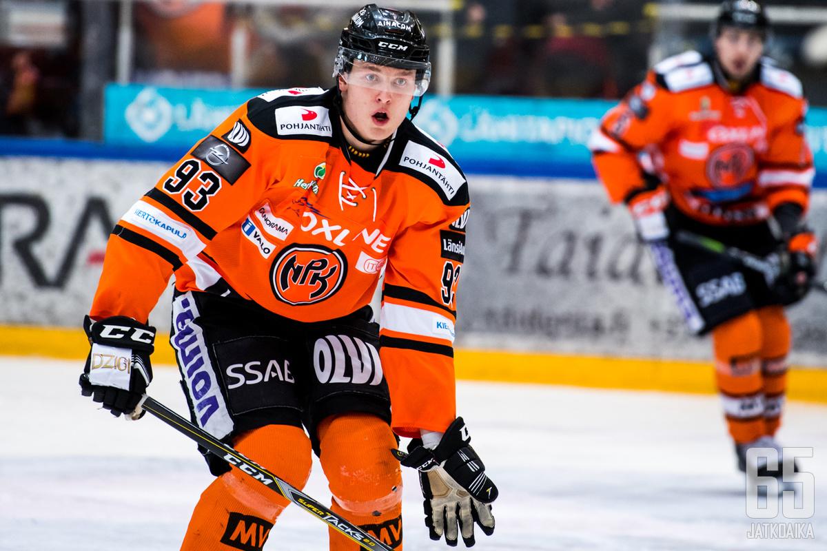 Kristian Vesalainen iski kaksi maalia.