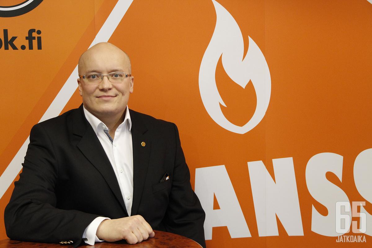 Antti Toivasen mukaan HPK pysyy vakaavaraisena seurana vaikeista ajoista huolimatta.