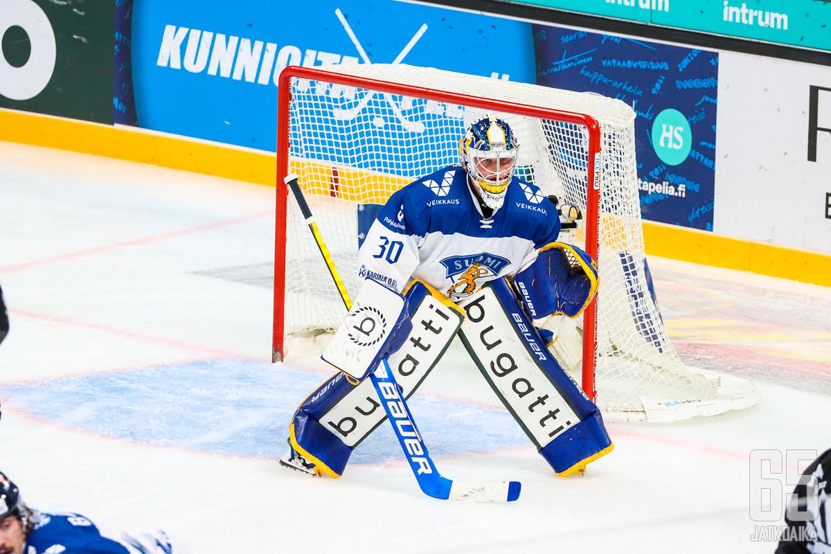Sami Rajaniemi ei onnistunut pelastamaan joukkuetta tappiolta.