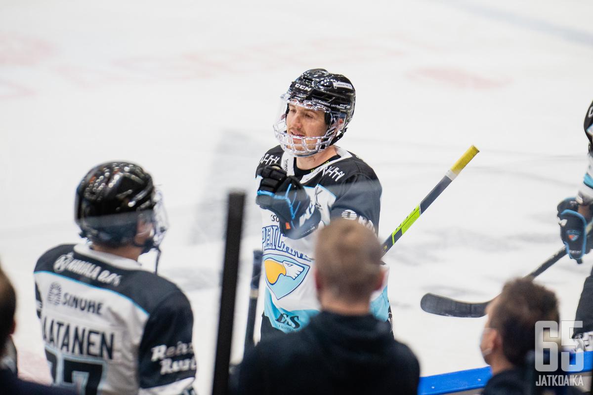 Rudolf Červený tuulettaa jatkossa KHL-kaukaloissa.