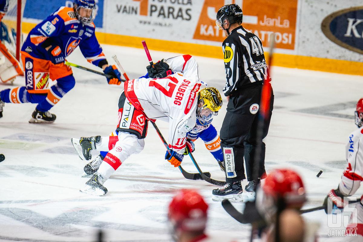 Ruotsalaishyökkääjä jatkaa Sportissa.