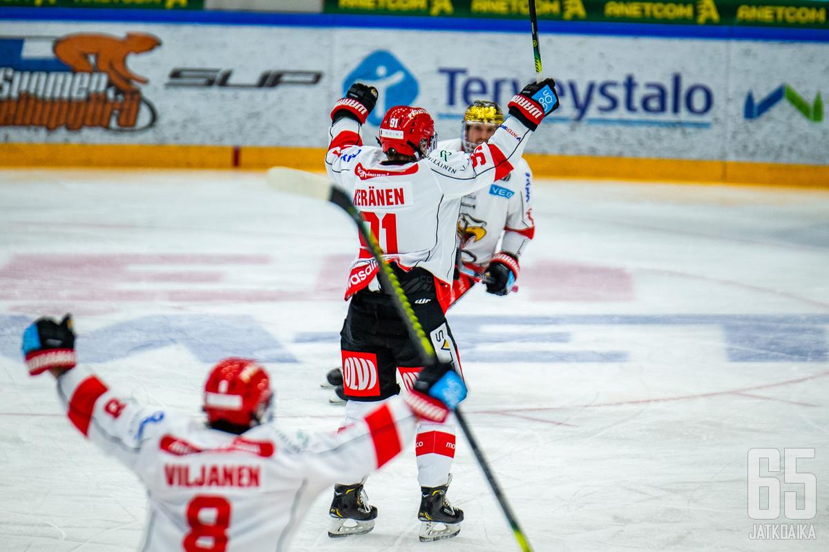 Janne Keränen ratkaisi voiton Sportille.