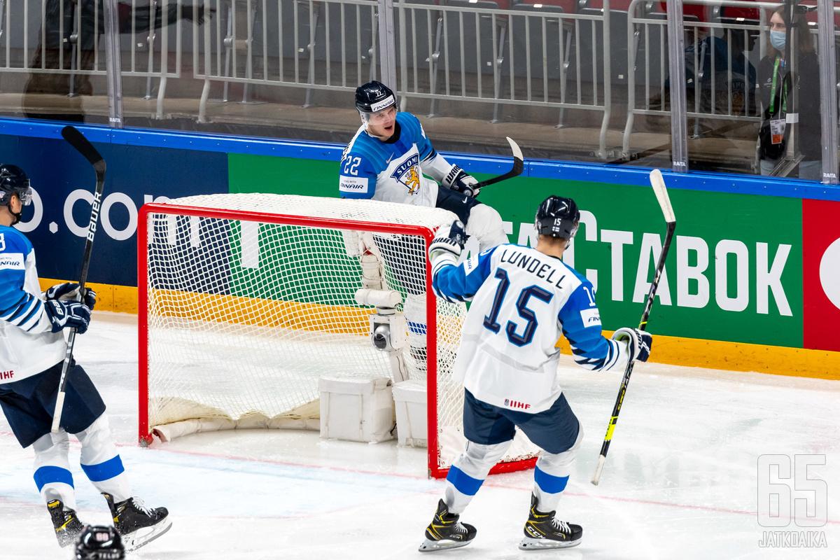 Suomi on välierissä mukana.