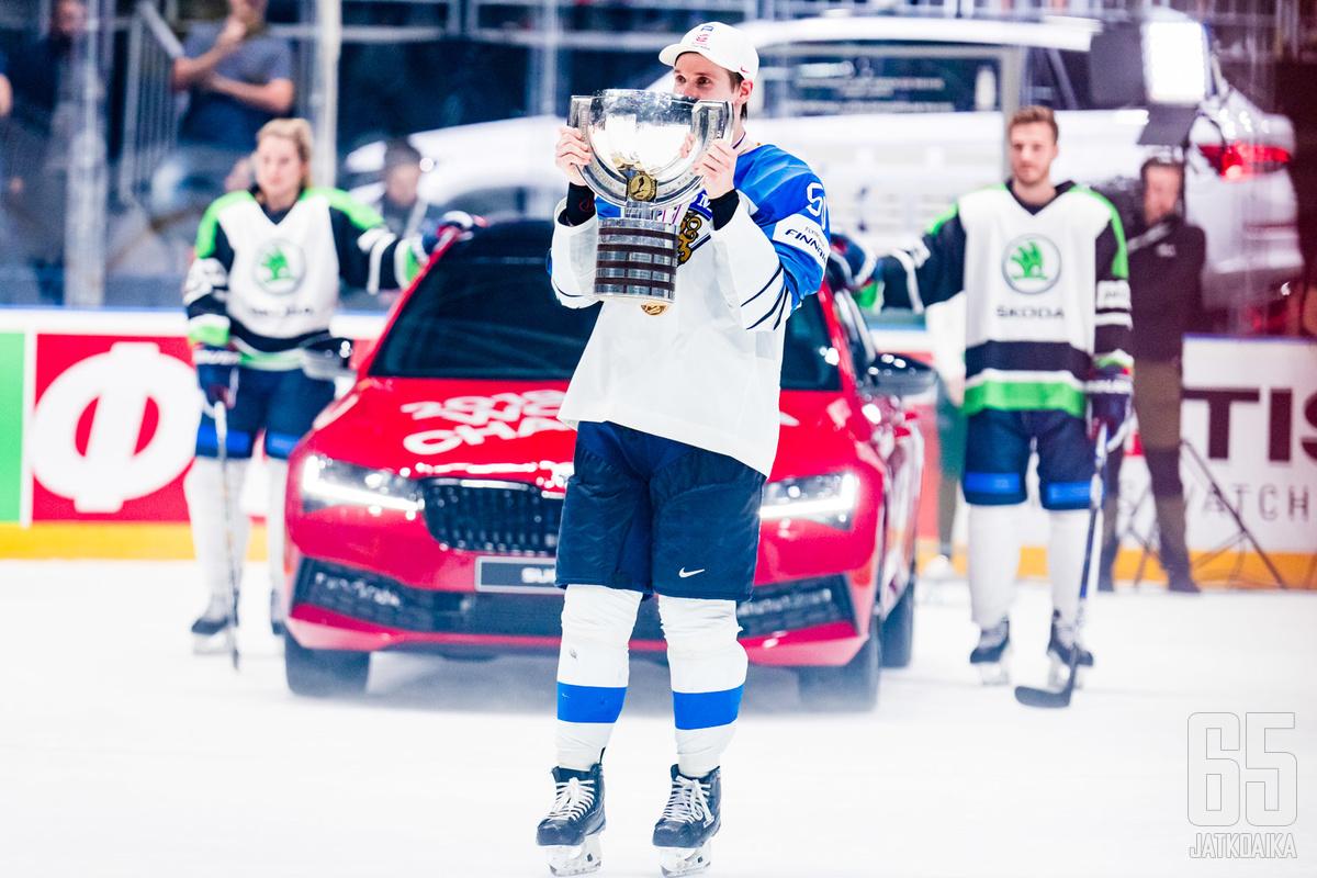Škoda on tullut tunnetuksi MM-kisojen pääsponsorina.