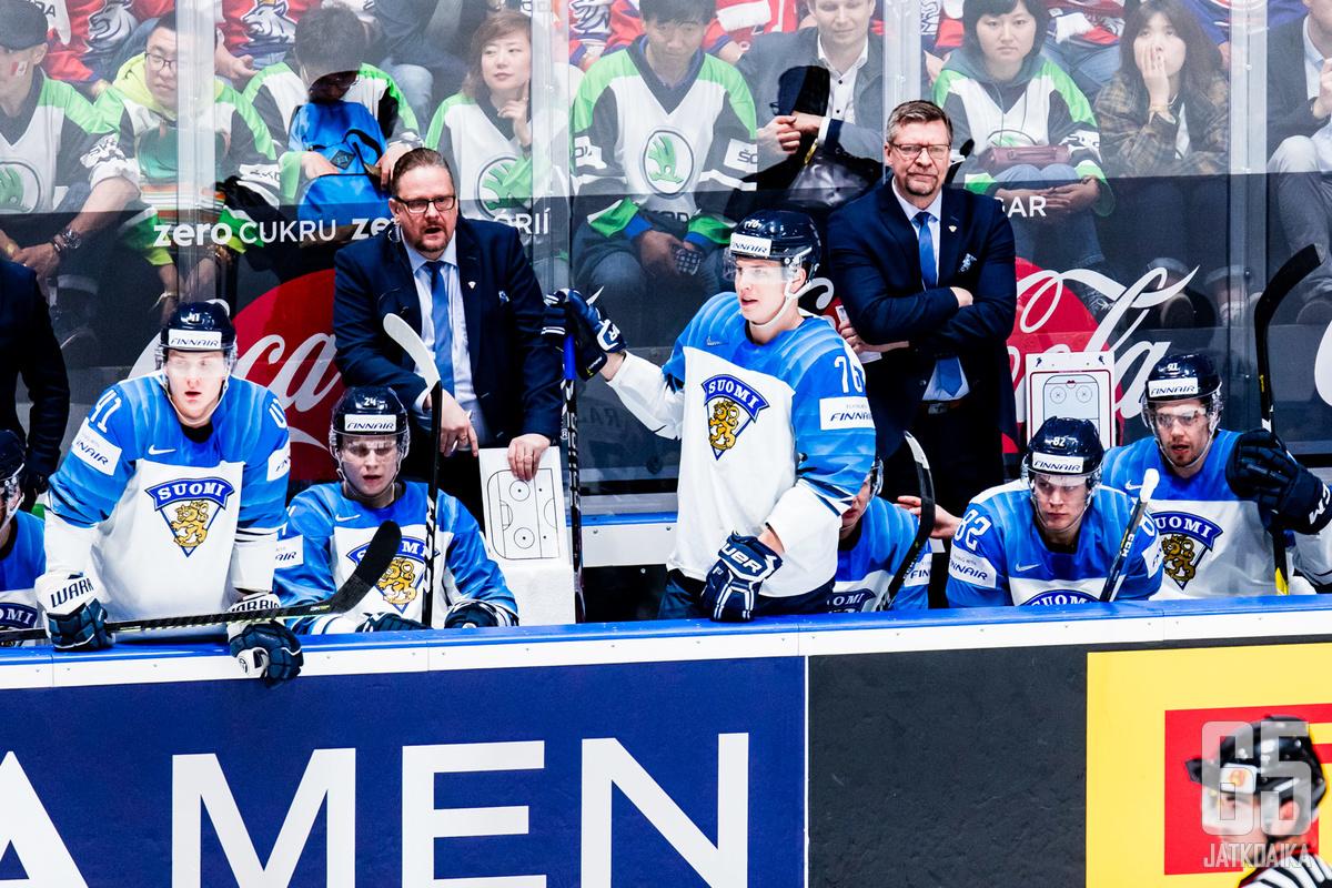 """""""Jörö-Jukka"""" johdatti joukkueensa maailmanmestaruuteen."""
